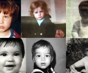 ¿Reconoces a estos artistas en su niñez?