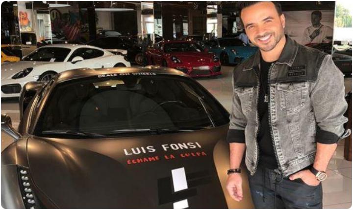 La otra pasión de Luis Fonsi 'Los Carros'