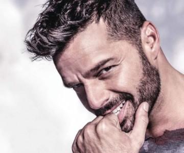 Ricky Martin, un papá orgulloso
