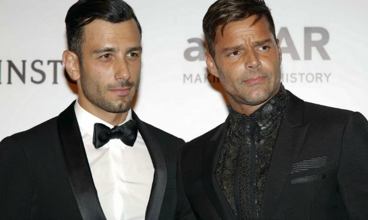 Ricky Martin y Jwan Yosef disfrutan del mar