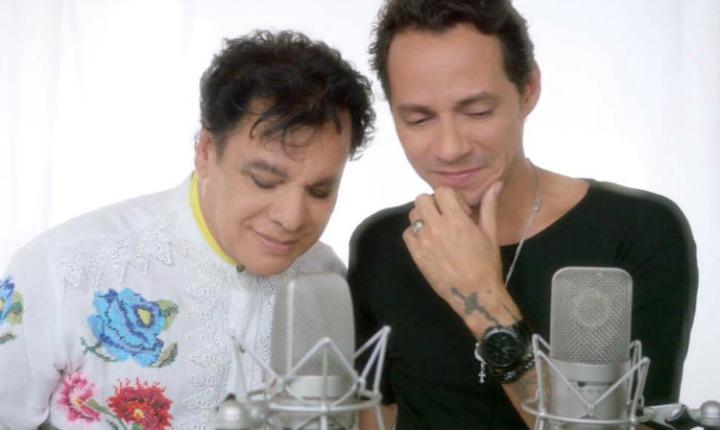 Juan Gabriel y Marc Anthony juntos