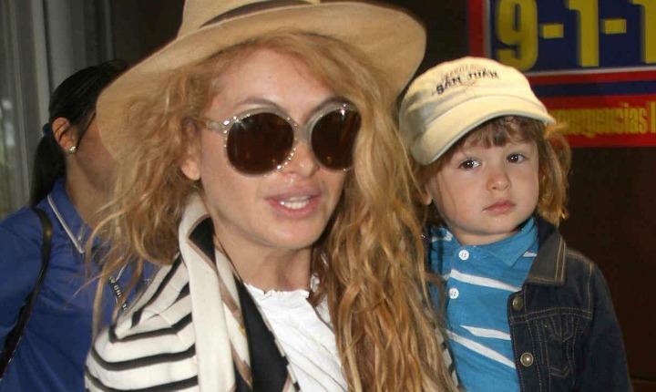 Hijo de Paulina Rubio quiere que su hermanito se llame Robin