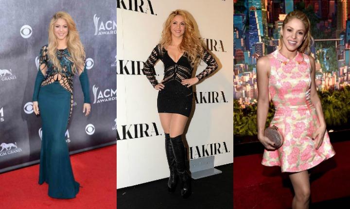 Cinco lecciones de estilo de Shakira