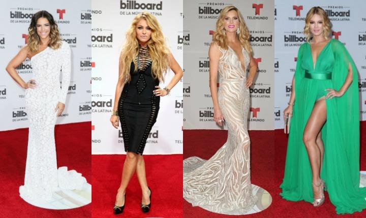 Billboard Latinos 2016: una alfombra con mucha piel