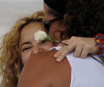Carlos Vives y Shakira esta semana en Barranquilla