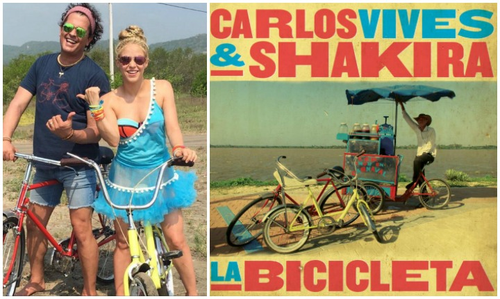 """CARLOS VIVES Y SHAKIRA LLEGA EN """"LA BICICLETA"""" ESTE 27 DE MAYO"""