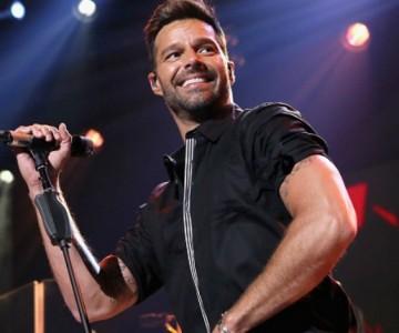 Ricky Martin en plan de novio en Puerto Rico