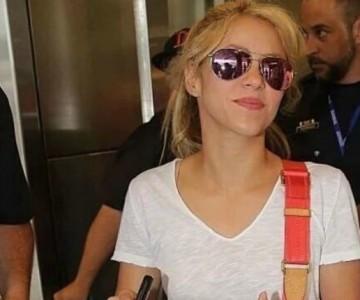 Así transcurre la visita de Shakira en Barranquilla