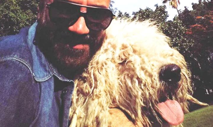 La mordida que le hizo su perro le ha dado el susto de la vida a Alejandro Fernández