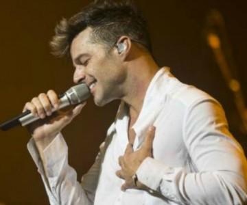 Ricky Martin se prepara para su show en Las Vegas