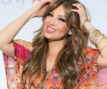 Thalía comparte en sus redes ¡que la hace feliz!