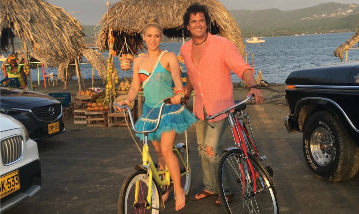 Shakira y Carlos Vives defienden 'La Bicicleta' de supuesto plagio
