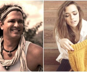 Carlos Vives defiende y apoya a su hija Lucy en sus proyectos