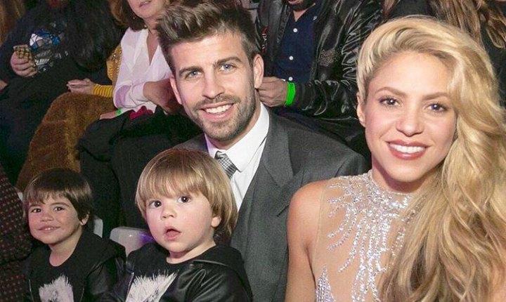Shakira y su familia salieron de Colombia