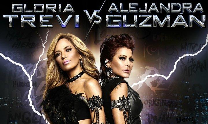 Filtran mala relación en gira de Gloria Trevi y Alejandra Guzmán