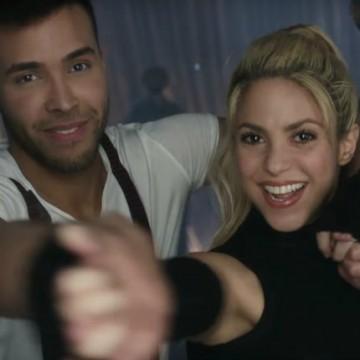 Shakira y Prince Royce te enseñan a bailar bachata