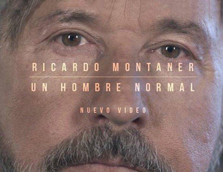 RICARDO MONTANER ESTRENA VIDEOCLIP DE 'UN HOMBRE NORMAL'