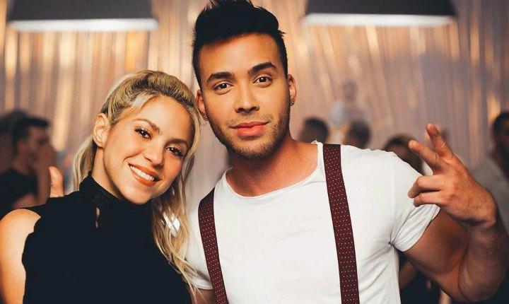 Shakira practica su bachata para video con Prince Royce