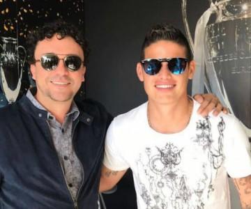El encuentro de Andrés Cepeda con James Rodríguez