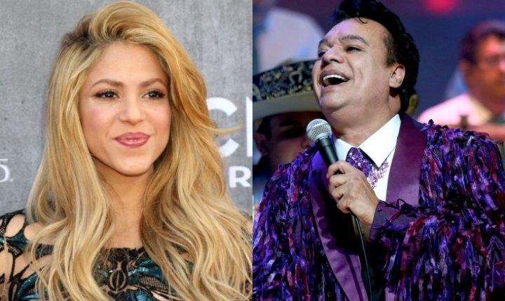 Shakira y Juan Gabriel, los más sonados para el Billboard