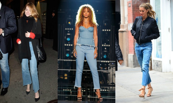 Alerta tendencia: los 'cropped flared jeans'