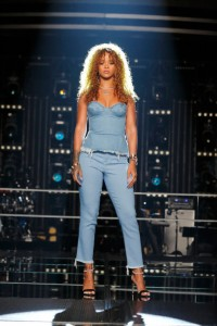 Rihanna con o sin tacones