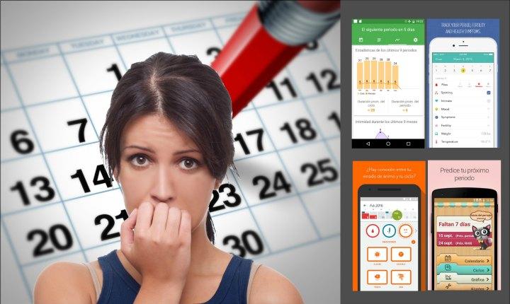 Lleva la cuenta de tu periodo menstrual en el celular