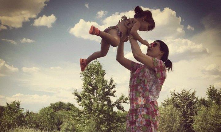 Madres felices después de los 40's