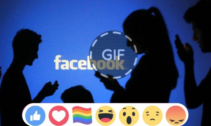 Facebook lleno de orgullo y comentarios con Gif's