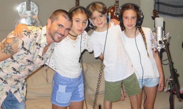 Juanes comparte con su fans al heredero de su talento