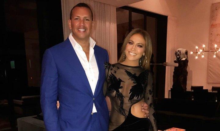 Jennifer López desmiente rumores de su ruptura con Alex Rodríguez