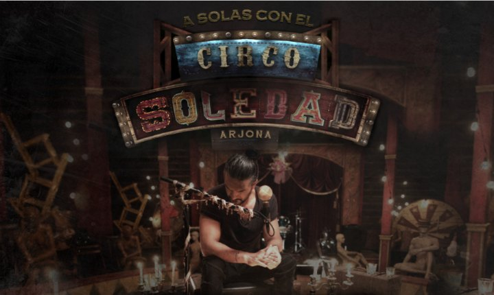 Ricardo Arjona hará disco en vivo de su gira 'Circo Soledad