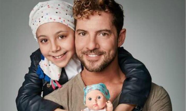 Con el juego, David Bisbal quiere ayudar a niños con cáncer