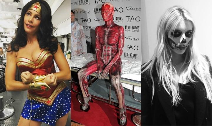 Lecciones de Halloween de nuestras famosas favoritas