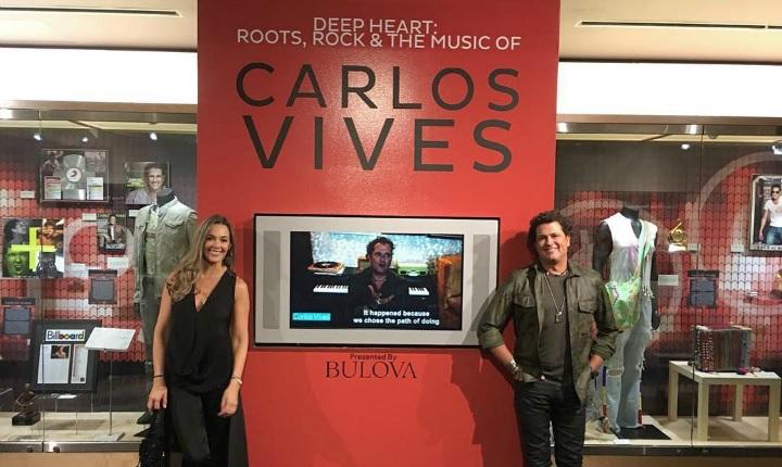 Carlos Vives tiene una vitrina en Museo del Grammy