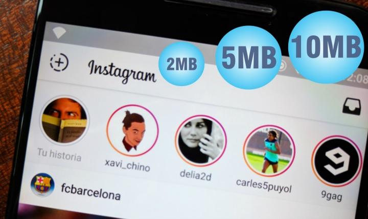 ¿Cuánto consume Instagram de tu plan de datos y cómo controlarlo?