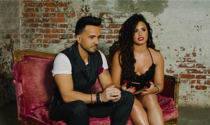 Luis Fonsi y Demi Lovato cantan juntos por primera vez en vivo