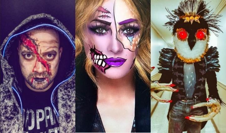 Artistas Radio Tiempo celebraron Halloween