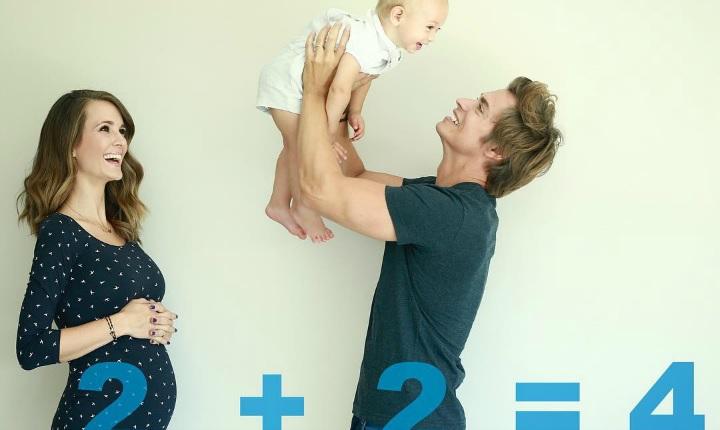 Carlos Baute le da la bienvenida al mundo a su nueva hija