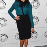 She-Wore-Pussy-Bow-Blouse-Pencil-Skirt-Paley-Center-Media-Gathering