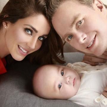 Anahí celebró el primer año de su hijo