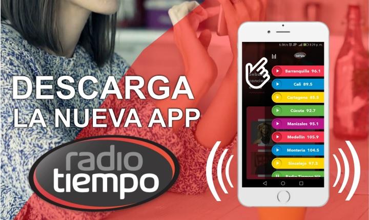 Radio Tiempo, una app para que vivas feliz todo el tiempo