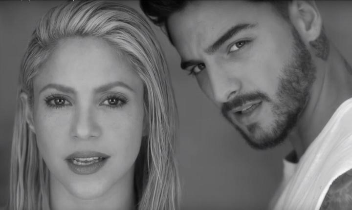 La reacción de Piqué al escuchar 'Trap' de Shakira y Maluma