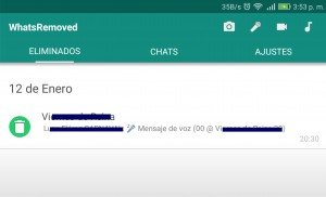 whtsapp eliminar