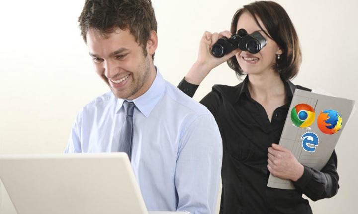 Borra la actividad que guarda el navegador de tu computador