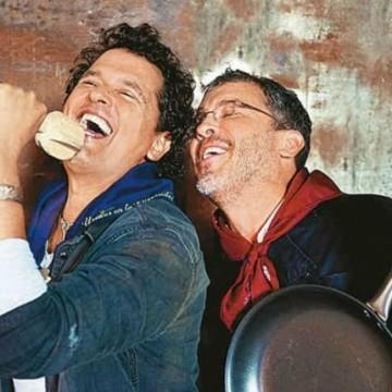 Carlos Vives, la cuota musical en matrimonio de su hermano