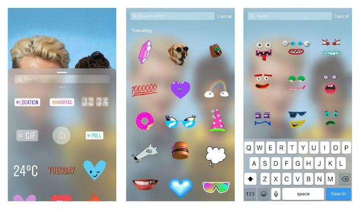 ¿Por qué desaparecieron los gif's de Instagram y Snapchat?