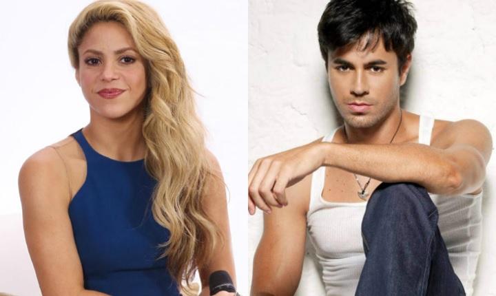 Redes enloquecen con foto de Shakira y Enrique Iglesias
