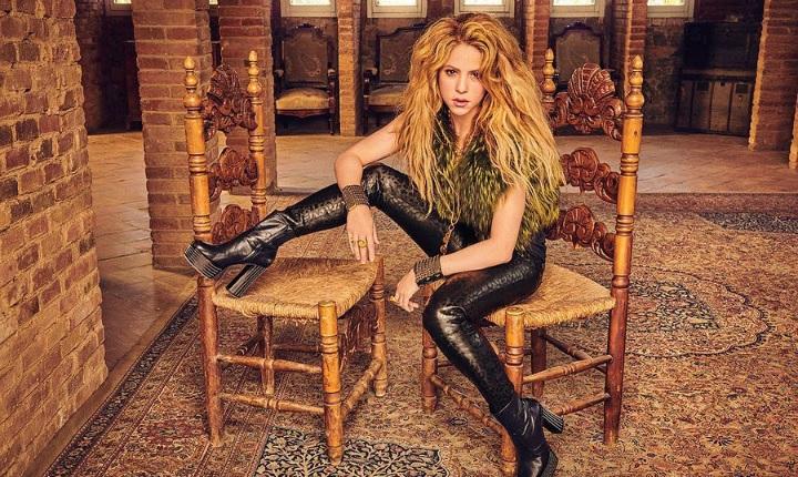 Shakira demuestra sus habilidades para las artes marciales