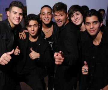 Ricky Martin dejará de ser el mánager de CNCO